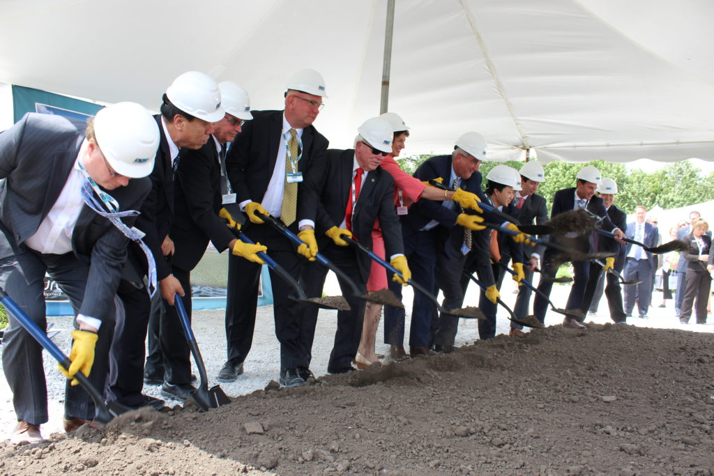Hedc Welcomes Bwi As Company Breaks Ground On First U S Production Facility Hancock Development Council